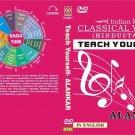 INDIAN CLASSICAL HINDUSTANI VOCAL MUSIC SET OF 9 TRAINING DVDs RAAG ALANKAR ETC