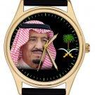 KING SALMAN OF SAUDI ARABIA CUSTODIAN OF THE TWO HOLY MOSQUES CORONATION WATCH