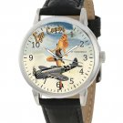 VINTAGE USAAF WW-II PINUP AIR FORCE ART CLASSIC P-47 THUNDERBOLT FIGHTER WATCH