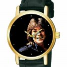 RARE! DAVID CASSIDY VINTAGE ART BEAUTIFUL 30 mm SOLID BRASS COLLECTIBLE WATCH
