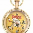 POPEYE THE SAILOR MAN, RARE 1960s 17 jewels CLASSIC COMIC ART 50mm POCKET WATCH