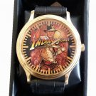RARE INDIANA JONES & THE TEMPLE OF DOOM VINTAGE HOLLYWOOD 40mm BRASS WRIST WATCH