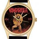 RARE VINTAGE VAMPIRELLA COMIC ART 40 mm ADULT SIZE COLLECTIBLE BRASS WRIST WATCH