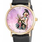 CLASSIC WONDER WOMAN VINTAGE PINK COLLECTIBLE COMIC ART LADIES GIRLS WRIST WATCH