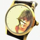 DAVID CASSIDY PARTRIDGE FAMILY BEAUTIFUL 30 mm COLLECTIBLE PORTRAIT WRIST WATCH