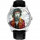 VERY RARE JIMI HENDRIX PSYCHEDELIC POP ART COLLECTIBLE SOLID BRASS WRIST WATCH