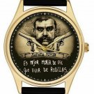 Culto Zapata Mexicano Revolucionario Arte Reloj Watch Hispanic Art Collectible