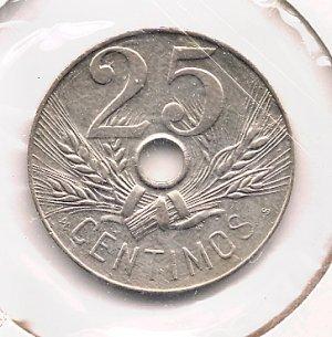 1927 25 cents BUNC