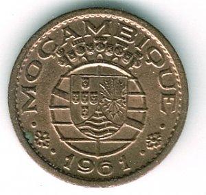 Mozambique 1961 10c CH GEM BU