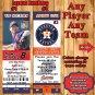 Baseball MLB Birthday Invitations 1 ea with Envelopes Personalized ANY Team