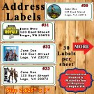 Fortnite Birthday 1 Sheet Address Labels Personalized