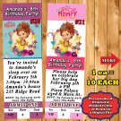 Fancy Nancy Birthday Invitations with Env 10 ea Personalized Printed