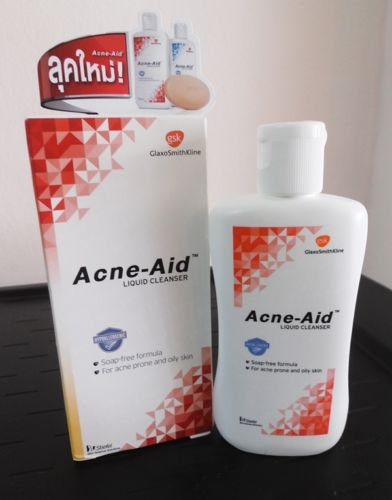 100 ml. STIEFEL Face Wash Acne Aid Soap Liquid Cleanser Pimple Oily Skin