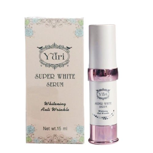 YURI SUPER SERUM WHITENING ANTI WRINKLE DARK SPOT NATURAL NANO MOLECULE +TRACK