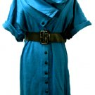 BLUE SAGIRA DRESS