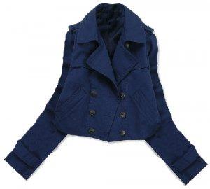 Blue Drea Coat