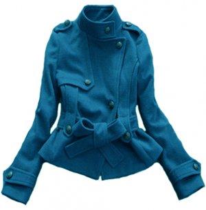 BLUE UMA COAT