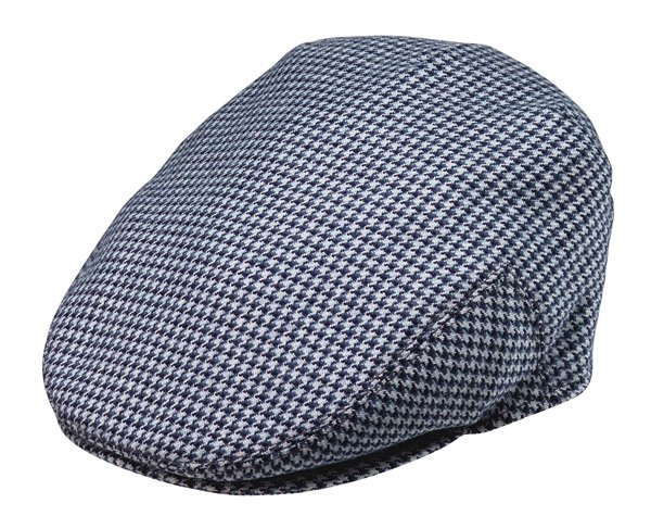 Mini Check Driving Cap