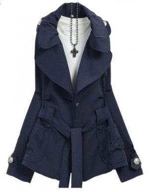BLUE WALDA COAT
