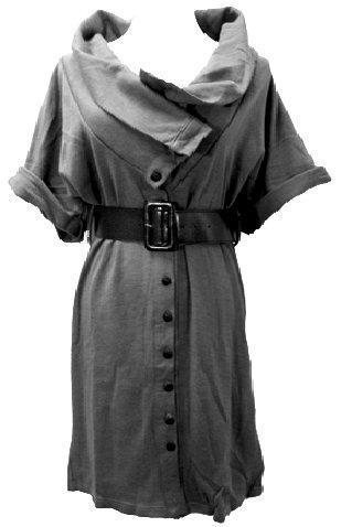 GRAY SAGIRA DRESS