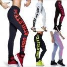 women Printed Letter Yoga Sport Leggings Girl Women Ladies Workout pants