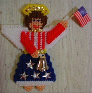 4th of July Liberty Angel