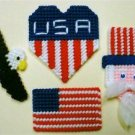 4th of July Magnet Set