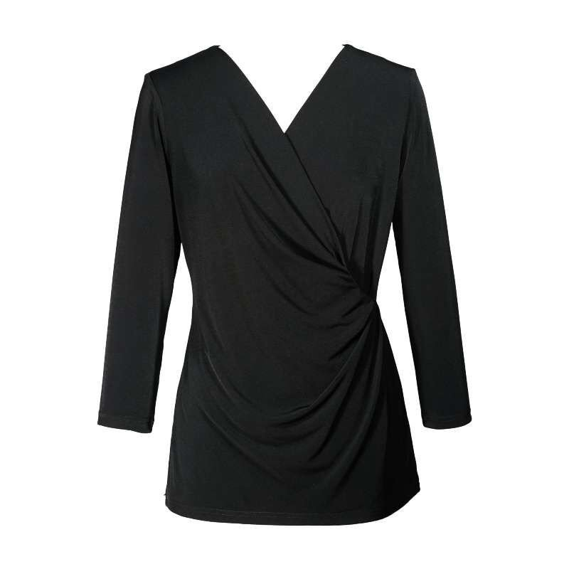 2 FOR 1 Jersey Draped Women Top