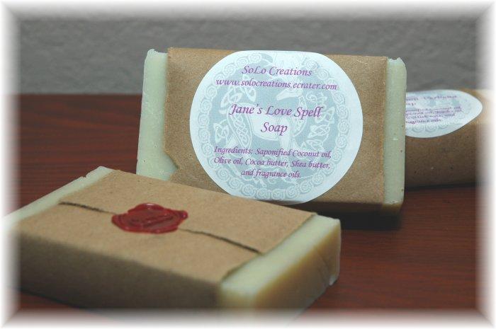 Jane's Love Spell Soap