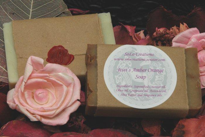 Jessi's Amber Orange Soap