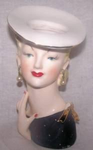 Napco Collectible Headvase-AS IS