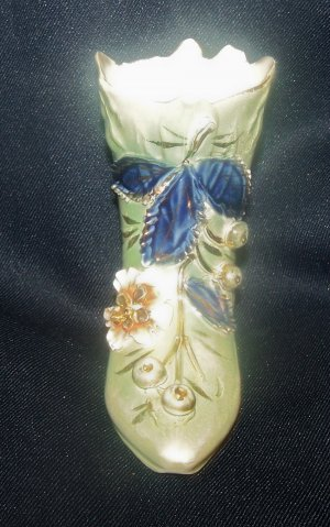 German Porcelain Vintage Collectible Boot