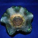 Fenton Green 6 inch Persian Medallion Bowl