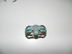 Southwestern Sterling Silver Horseshoe Cuff Bracelet