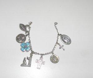 Catholic Religous Charm Bracelet