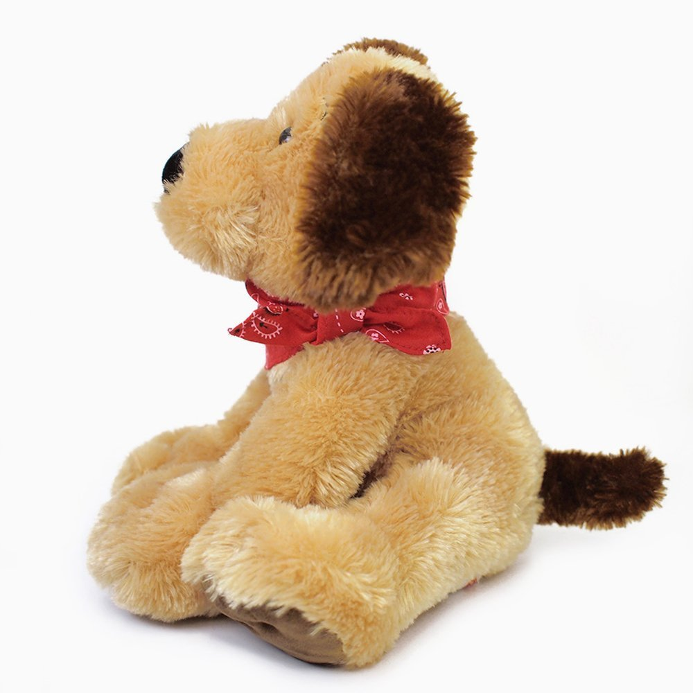"Gund Bandit Dog Stuffed Animal 9"""