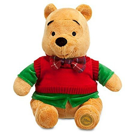 Disney Winnie the Pooh Plush - Holiday - 12''