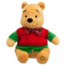Disney Winnie the Pooh Plush - Holiday - 12''