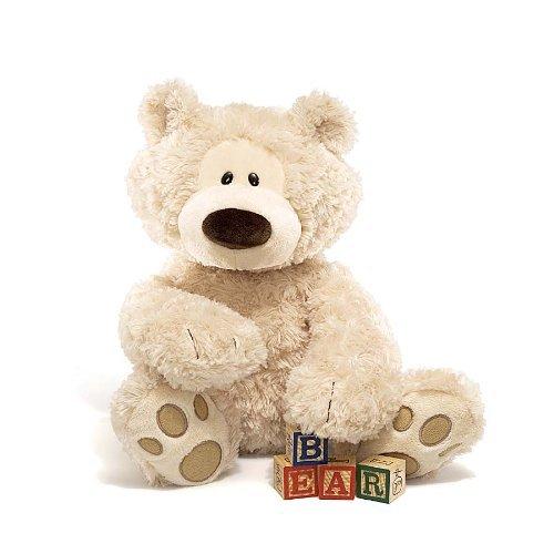 Gund Philbin Teddy Bear Stuffed Animal, 18 inches