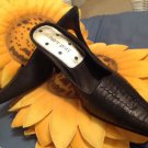 Black Beautiful  Leather Pump  SHOES for any occassional  sIZE 7.5