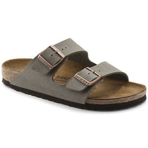 Birkenstock Arizona Sandal, Stone, Regular Fit, Size 36, NWT