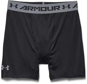 Under Armour Men's HeatGear Armour Compression Shorts,1257470, Black, NWT