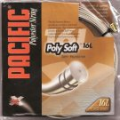 Pacific PolySoft 16L, Natural, 4 Packages of Tennis String, NWT