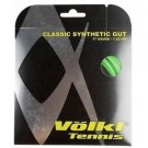 Volkl Classic Synthetic Gut 17g, Neon Green, 6 Packages of Tennis String, NWT