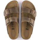 Birkenstock Arizona in Tabacco Brown Sandals, 0352203, Narrow Fit, NWT