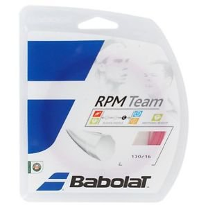 Babolat RPM Team String, Pink, 16 Gauge, 3 Packages of Tennis String, NWT