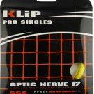 Klip Optic Nerve 17g, Optic Yellow, 1 Package of Tennis String, NWT