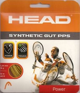 Head Synthetic Gut PPS 16g, Gold, 8 Packages of String  NWT