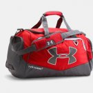 Under Armour Storm Undeniable MD Duffle Bag, Red/ Grey, NWT