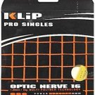 Klip Optic Nerve 16g, Optic Yellow, 4 Package of Tennis String, NWT